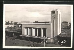 AK Clermont-Ferrand, La Gare, Bahnhof, Neubau