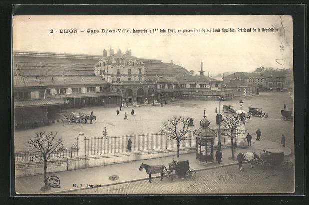 AK Dijon, Gare Dijon-Ville, Bahnhof 0