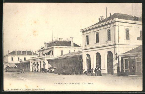 AK Clermont-Ferrand, La Gare, Blick auf den Bahnhof 0