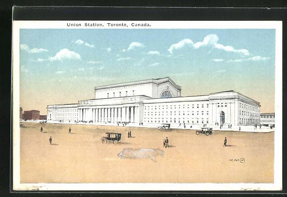 AK Toronto, Union Station, Bahnhof 0