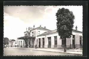 AK Argenteuil, La Gare, Blick auf den Bahnhof