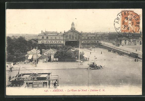 AK Amiens, La Gare du Nord 0
