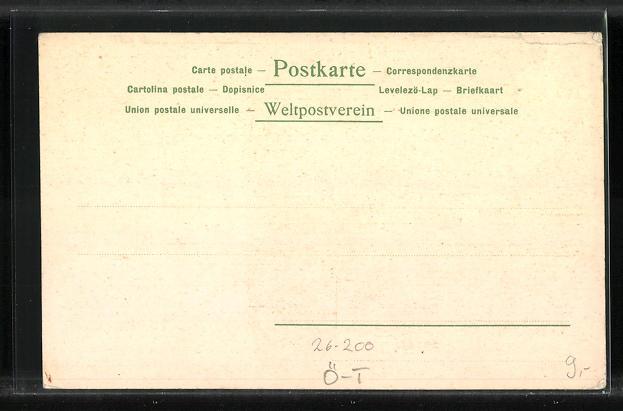 Künstler-AK Otto Strützel: Innsbruck, Maria-Theresien-Strasse 1