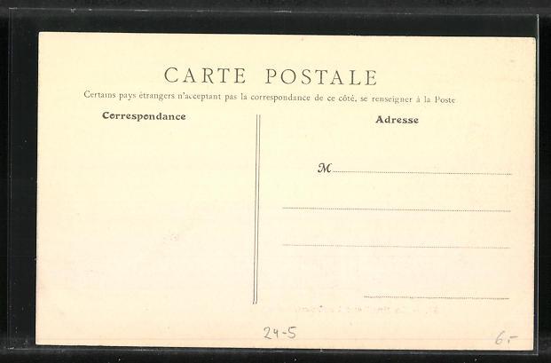 AK Levallois-Perret, La Rue Fromont, Hochwasser 1910 1