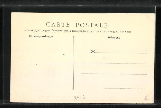 AK Levallois-Perret, La Rue Rivay, Hochwasser 1910 1