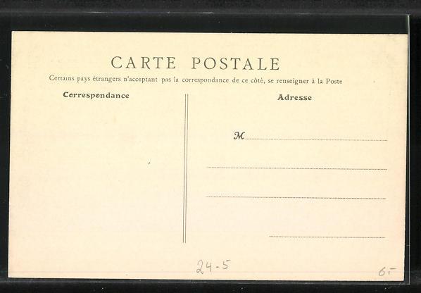 AK Levallois-Perret, La Rue Raspail, Hochwasser 1910 1