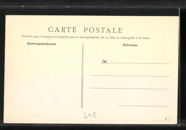 AK Levallois-Perret, La Rue des Frères-Herbert, Hochwasser 1910 1