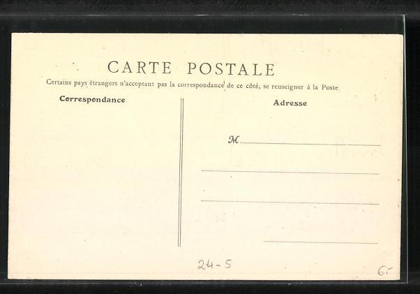 AK Levallois-Perret, La Rue Cavè, Hochwasser 1910 1