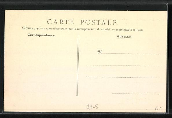 AK Levallois-Perret, La Rue de Courcelles, Hochwasser 1910 1