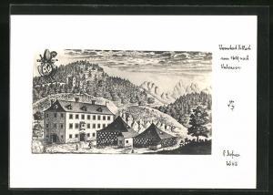 Foto-AK Adalbert Defner: Villach, Ort um 1600