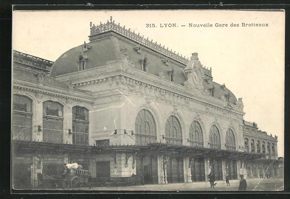 AK Lyon, Nouvelle Gare des Brotteaux 0