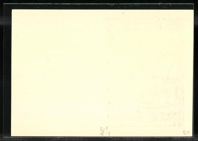 AK Berlin, Nationale Ausstellung Die Deutsche Briefmarke 1937, 50 Milliarden-Marke, Ganzsache 1