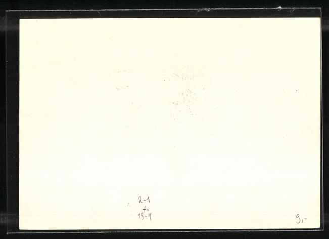 AK Jena, 1. Thüringische Postwertzeichen-Ausstellung 1936, Strassenpartie, Ganzsache 1