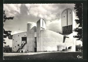 AK Ronchamp, Chapellede Notre Dame du Haut, Bauhaus