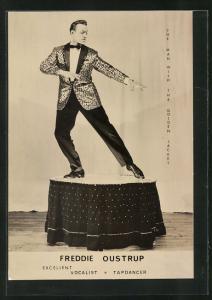AK Freddie Oustrup beim Tanz