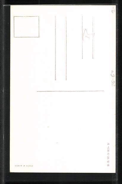 Künstler-AK Fritz Schönpflug: Ein Soldat in Uniform 1