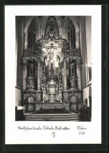 Foto-AK Adalbert Defner: Villach, Hochaltar der Stadtpfarrkirche