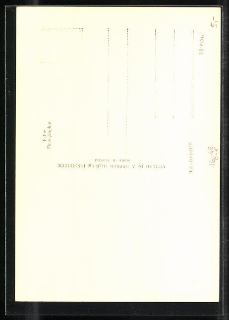 Foto-AK Adalbert Defner: Villach, Christophorusfreske in der Stadtpfarrkirche 1
