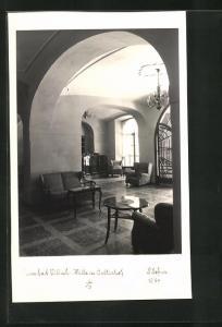 Foto-AK Adalbert Defner: Villach, Halle im Walterhof
