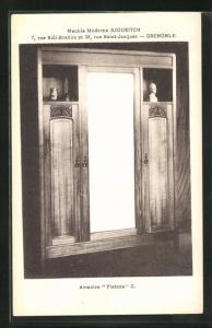 AK Grenoble, Armoire Platane-Meuble Moderne Djoukitch, Art Deco