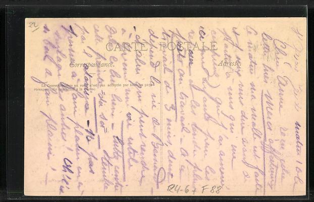 AK Portrieux, Grande Tempete du 27 Mars 1906, Goelette Saga couverte par les vagues, Unwetter 1