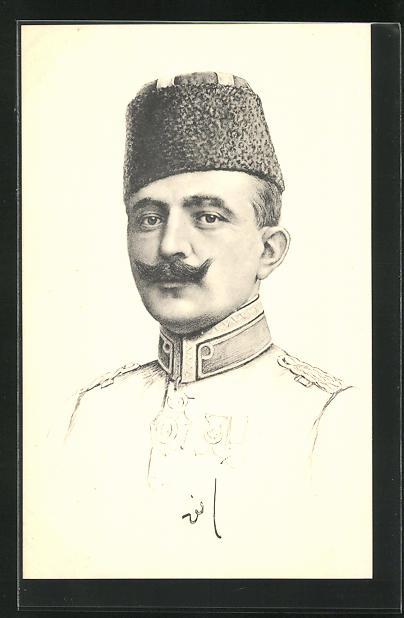 AK Enver Pascha, türkischer Höchstkommandierender 0