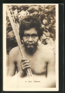 AK Indio Guarany, südamerikanischer Ureinwohner