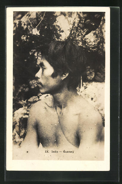 AK Indio Guarany, südamerikanischer Ureinwohner, Profil 0