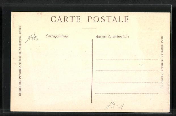 AK Nice, Geldschein, Wappen, Strassenpartie, Celebrites: Cale Vanloo, Brea, Aubry Lecomte 1