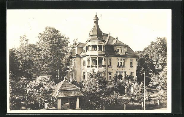 Foto-AK Dresden-Blasewitz, Villa Goetheallee 14, 1933 0