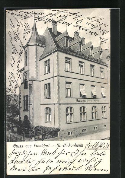 AK Frankfurt-Bockenheim, Diaconissen-Heim 0