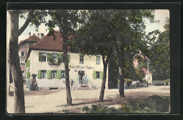 AK Zipfen i. Odenwald, Gasthaus & Pension Becker 0