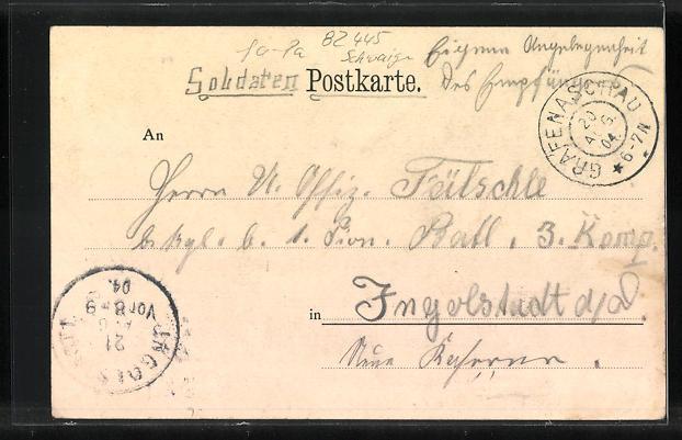 AK Grafenaschau, Gasthaus zu Aschau, Ferienkolonie 1