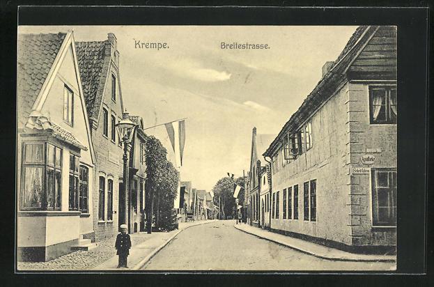 AK Krempe, Blick in die Breitestrasse 0