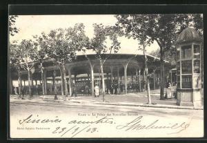 AK Vichy, Le Palais des Nouvelles Sources, Quelle