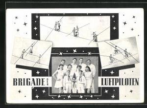AK Brigade der Luftpiloten, Fahrrad-Akrobaten