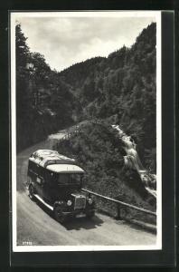 AK Magirus Lastkraftwagen auf einer Strasse bei Reit im Winkl