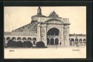 AK Wien, Rotunde am Wiener Prater