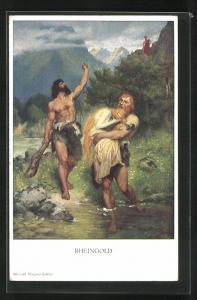 AK Nibelungen, Männer stehlen Rheingold