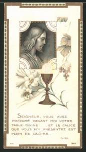 Heiligenbild Jesus, Heiliger Gral, Bibelvers