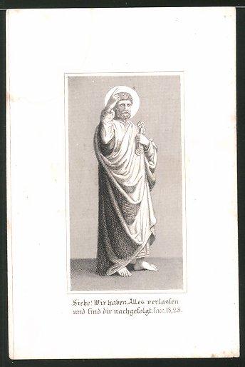 Heiligenbild Hl. Lukas, Psalm, Bibelvers 0