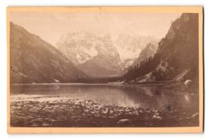 Fotografie A. Kofler & Violand, Bruneck, Ansicht Monte Cristallo