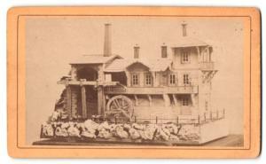 Fotografie Johann Korak, Bleiburg, Modell einer Wassermühle