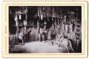Fotografie Verlag von Arthur Laue, Eisenach, Ansicht Eisenach, Rüstsaal der Wartburg