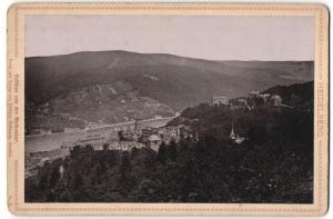 Fotografie Verlag von Wilhelm Hoffmann, Dresden, Ansicht Heidelberg, Schloss von der Molkenkur