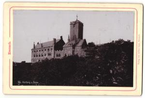 Fotografie Verlag von Arthur Laue, Eisenach, Ansicht Eisenach, Wartburg von Osten