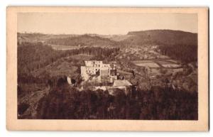 Fotografie Joh. Schneider, Langenlois, Ansicht Burgruine Oberwallsee