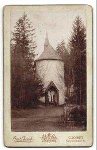 Fotografie Rudolf Ferstl, Gloggnitz, Ansicht Kapelle an unbekanntem Ort