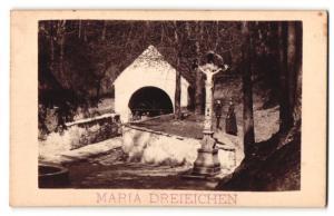 Fotografie G. Hiesberger, Ansicht Maria Dreieichen, Bründlkapelle