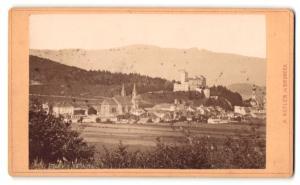 Fotografie A. Kofler, Bruneck, Ansicht Bruneck, Panorama